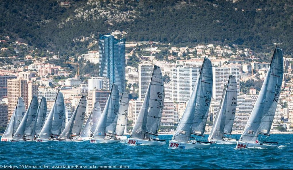The GC32 foiling catamarans will make the show, at 4th Monaco Sportsboat Winter Series