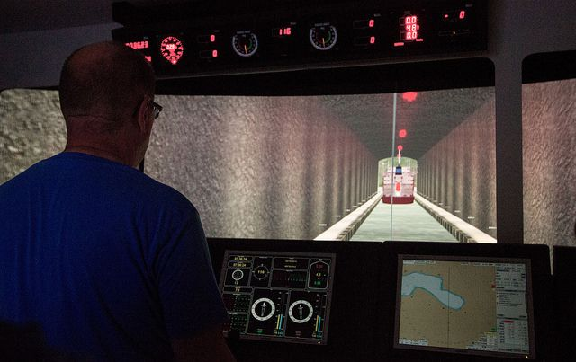 Norway - world's first ship tunnel, to bypass dangerous sea