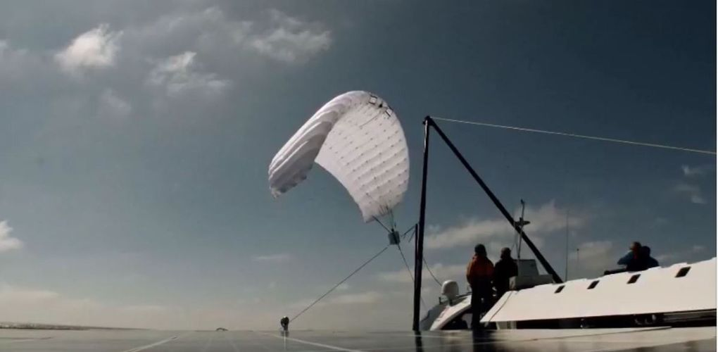 SkySails launches kite drive for yachts
