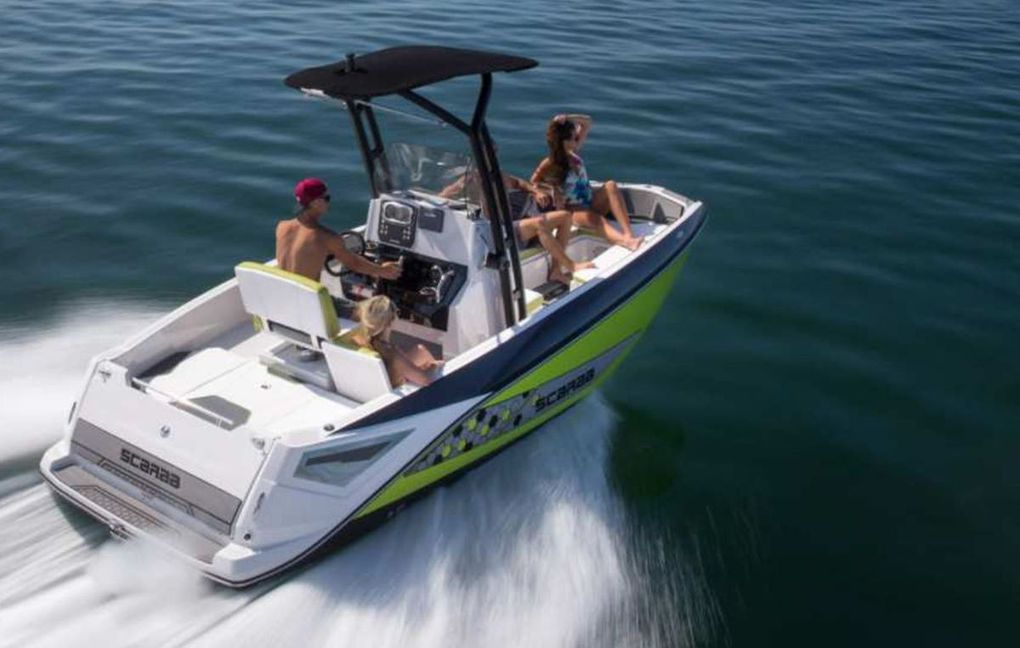 Scarab 195 Open - The Open in a Jet Engine Version!