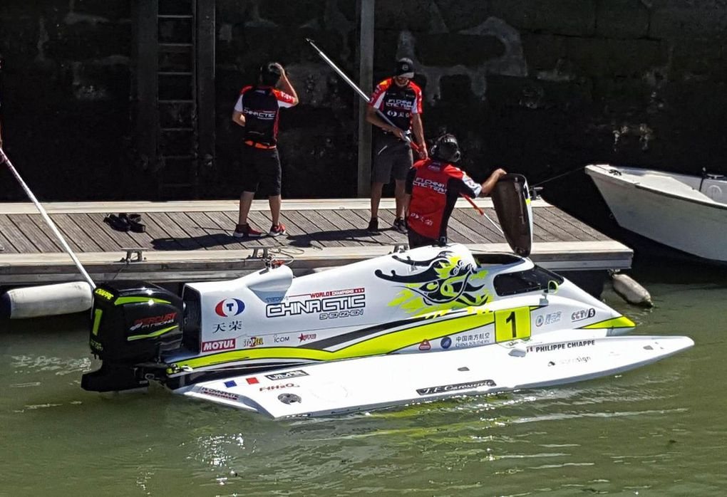 Video - Speed Record between the Two Towers of the Old Port of La Rochelle: 204 km/h!