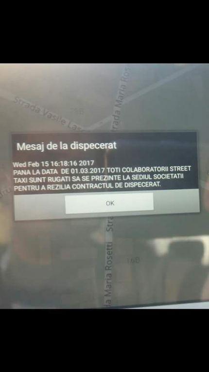 Uite STREET, nu-i STREET sau alba-neagra pe timpul, banii și nervii taximetriștilor