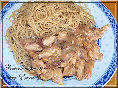 poulet sauce cacahuète