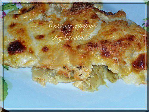 gratin d'endive façon lasagnes