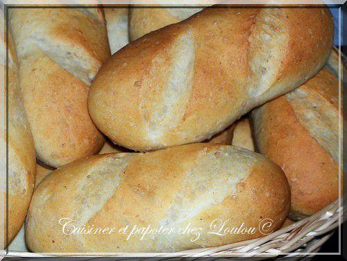 Mes petits pains du jour
