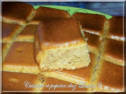 Gâteau à la crème de spéculoos