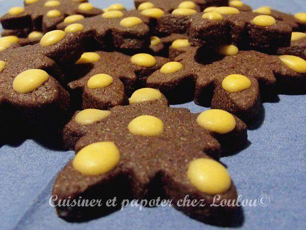 Biscuits chocolat épices