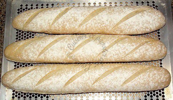 Baguettes au levain méthode 123