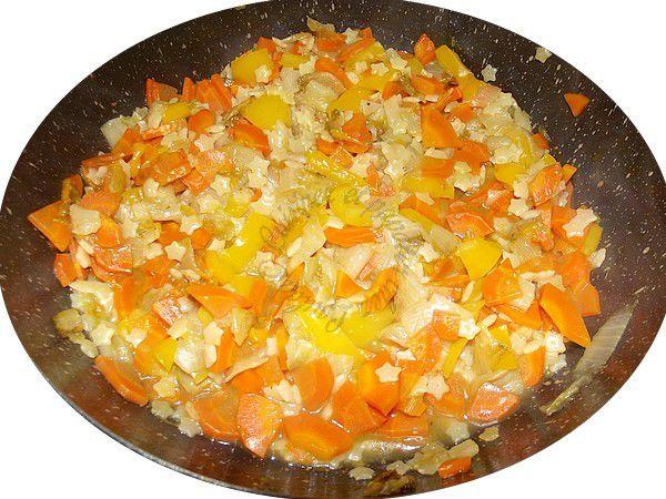 poêlée de légumes aux petites pâtes