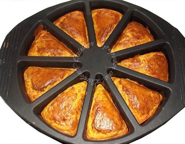 Muffins potiron oignons lardons