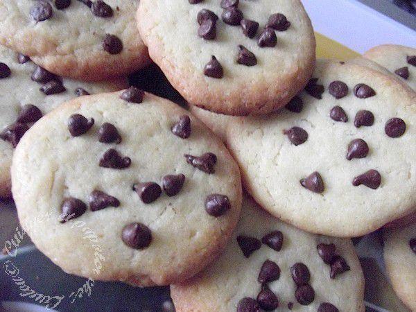 Sablés à la vanille à la presse à biscuits....ou pas !!!