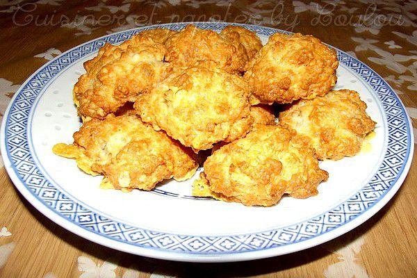 Cookies salés tout fromage