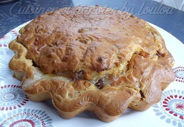 Cake salé Nord et Sud ou si vous préférez Maroilles tomates confites