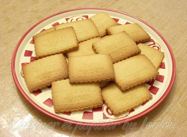 Biscuits Petits Beurre maison