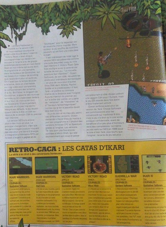 Ikari Warirors - Reto Gamer Collection