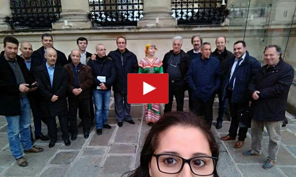 Le Collectif des Amazighs en France CNAF reçu à l'Assemblée Nationale Française. K-Direct Actualité