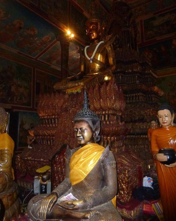 Les temples et pagodes