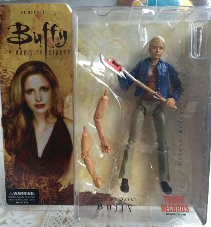 """Les actions figures """"Buffy Summers""""."""