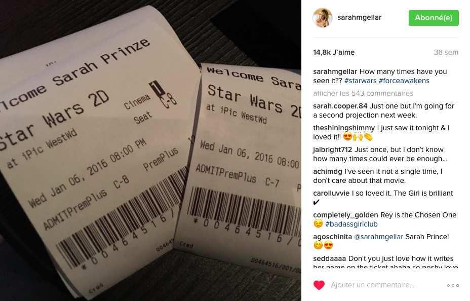 Sarah Michelle Gellar &amp&#x3B; Star Wars