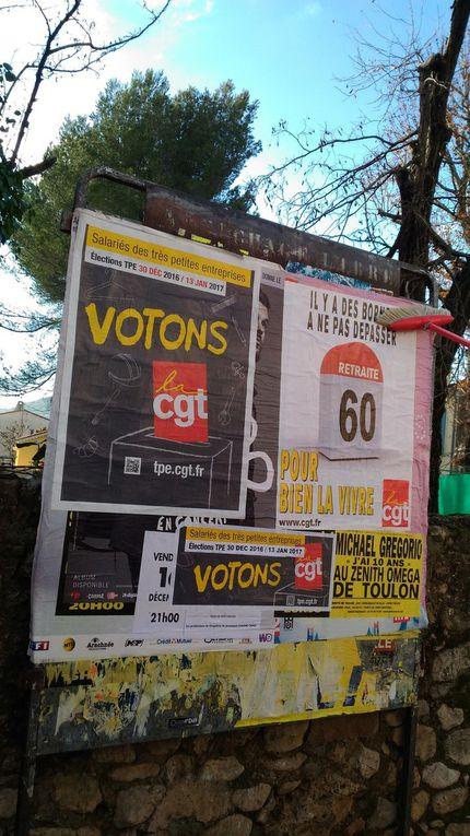 Journée militante Elections TPE...