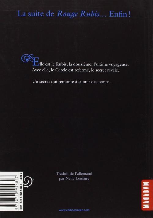 La Trilogie des Gemmes T02 : Bleu Saphir - Kerstin Gier