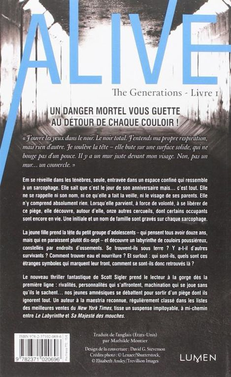 The Generation T01 : Alive - Scott Sigler