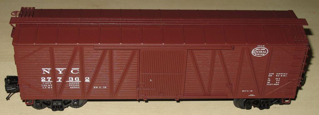Wagon 40' USRA Single Sheathed Box Car 3 rails échelle O MTH