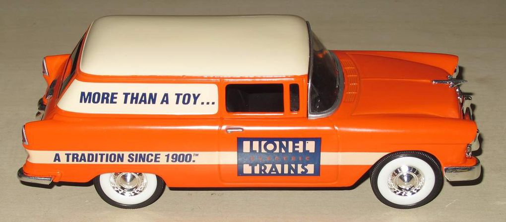 1955 Chevy Delivery Die Cast 1/25 Lionel Eastwood