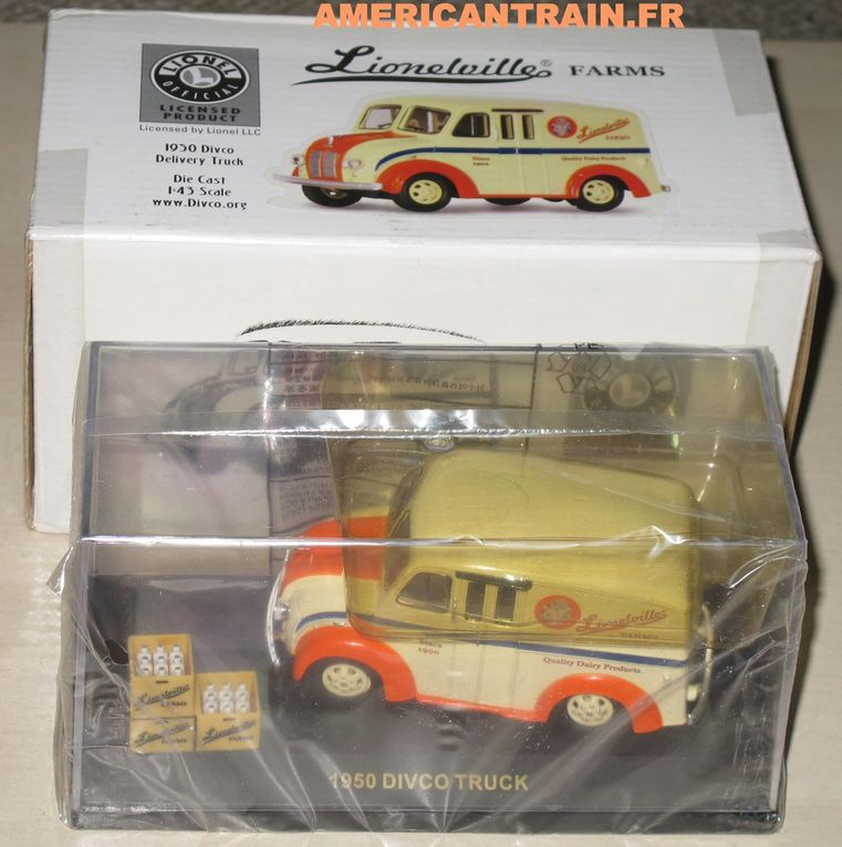 1950 Divco Delivery Truck, Lionel, 1/43eme Road Champs