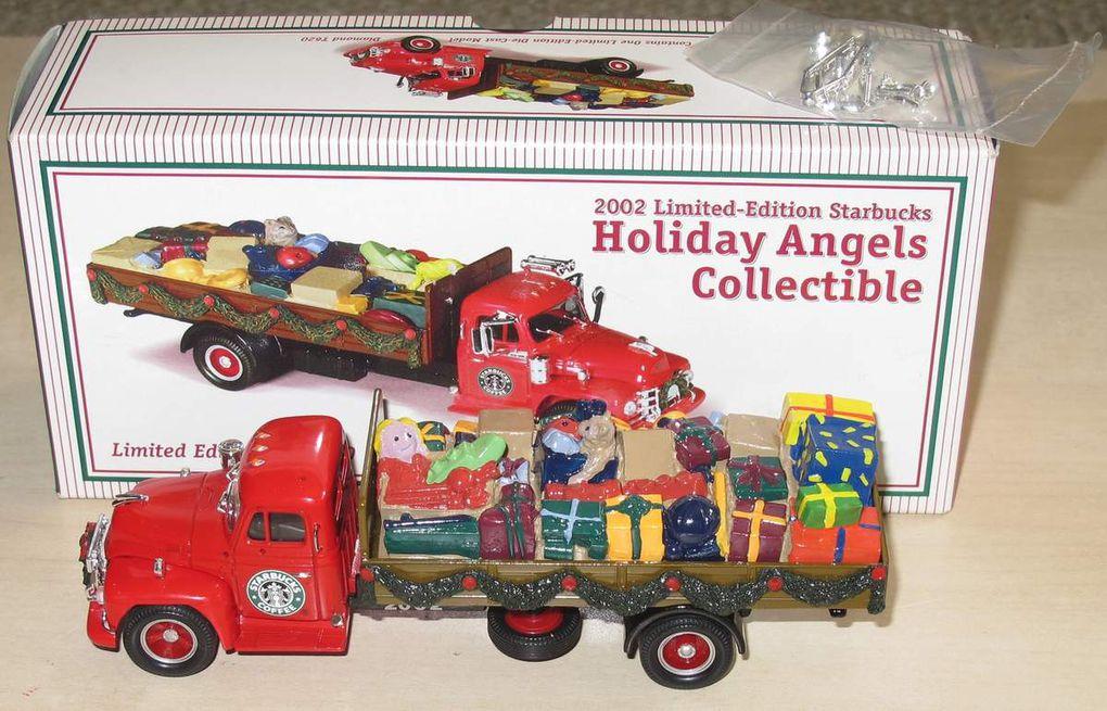 Diamond T620 Starbucks 2002 Holiday Angels Collectible 1/50 Corgi