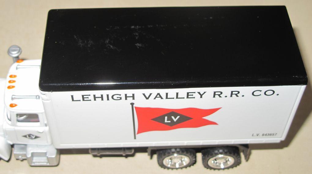 Camion Américain Lehigh Valley Panel Truck Die Cast échelle O K-line
