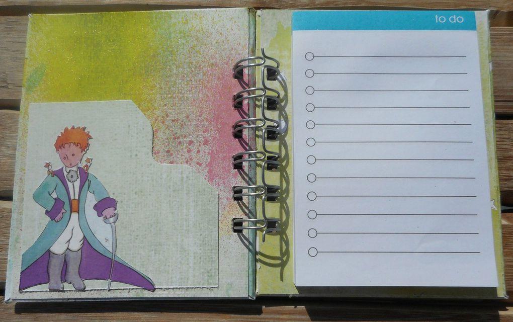 2 nouveaux carnets mémo &quot&#x3B;petit prince&quot&#x3B;