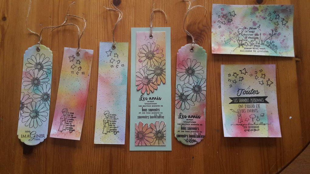 Atelier de ce dimanche : le papier aquarelle dans tous ses états !