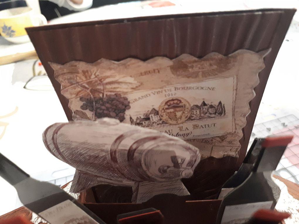 Carte Caisse de vins