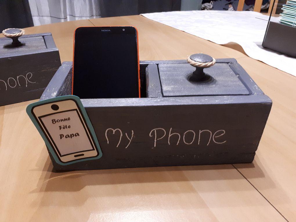 Tuto customisation support de téléphone et ses accessoires