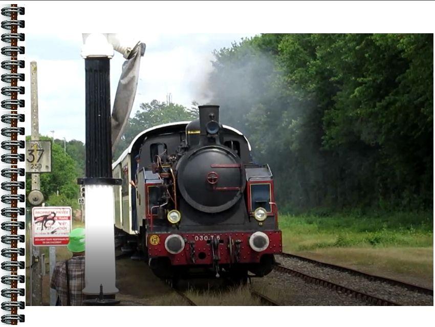 4 Juin 2017:   Train  Vapeur  à  Mortagne  sur  Sèvre et visite à la Ferme des Coûts