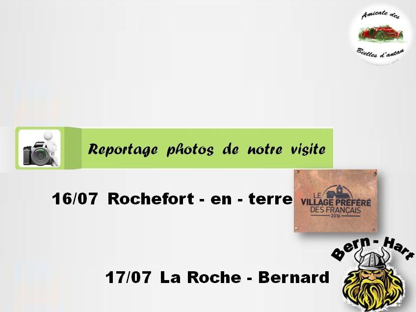 WEEK-END TOURISTIQUE DE L' ABA EN TERRE MORBIHANNAISE LES 16 et 17 SEPTEMBRE 2017.