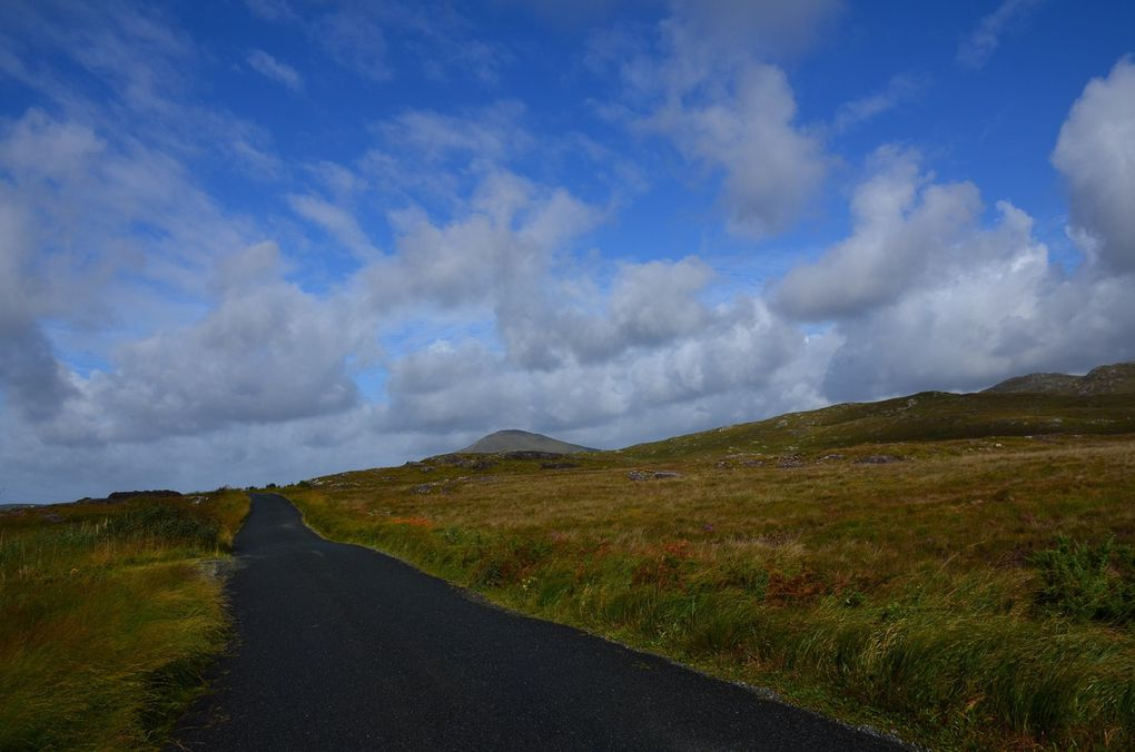 Routes R340 - R342 - R341 entre Screebe et Clifden