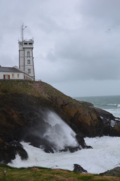 La Pointe St Matthieu, son phare et son Abbaye