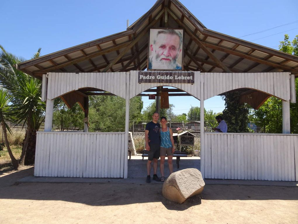 Le sanctuaire dédié à Guy, près du lieu de l'accident