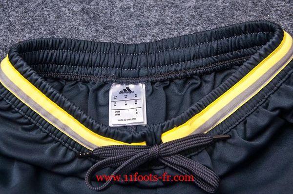 Repica Tee Shirt Juventus Noir et Blanc Kit + Pantalon 3/4 Nouveau 2016-17
