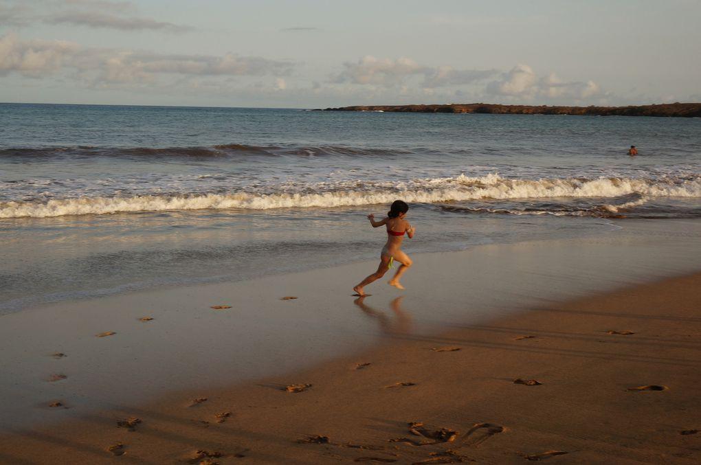 La veille de la rentrée, après dix journées intenses pour organiser l'installation, on s'est fait une première journée plage....avant de plonger dans les semaines de rentrée.