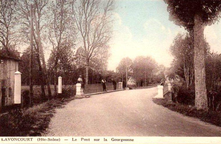 Cartes postales anciennes de Lavoncourt.