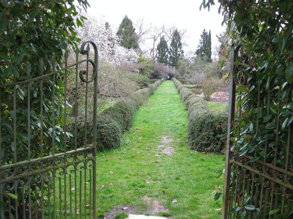Jardins du château de Gaujacq