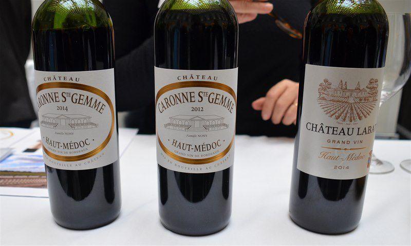 Bordeaux Tasting 11 décembre 2016