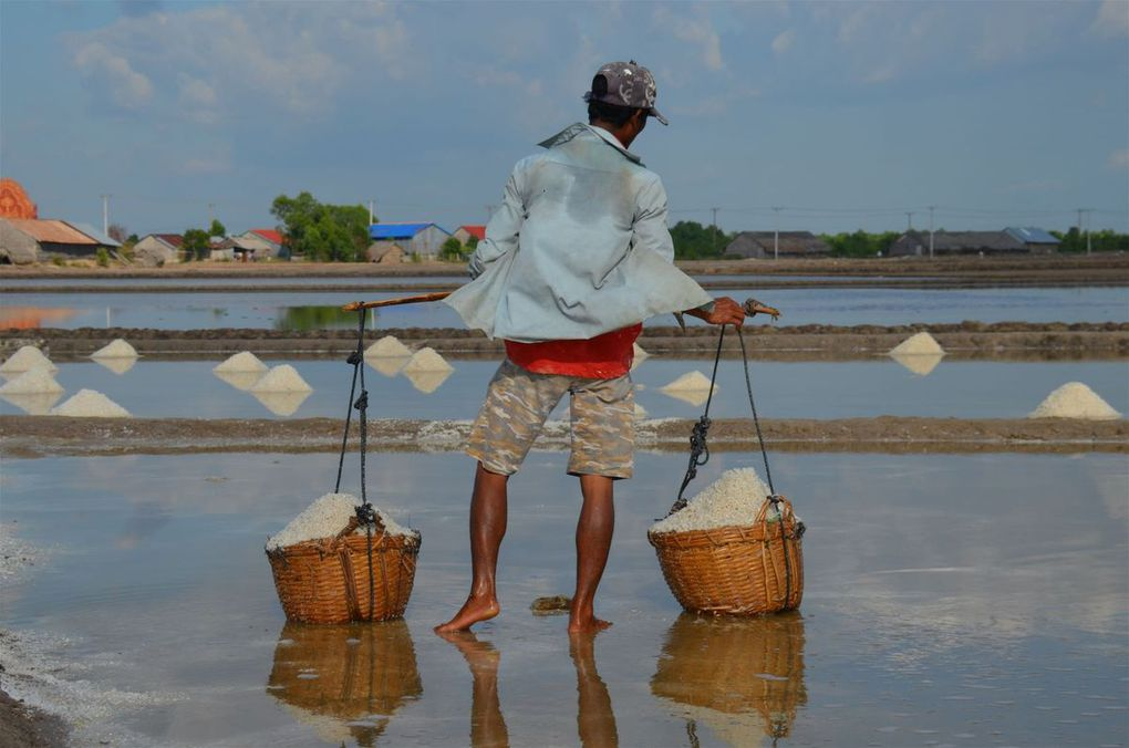 Les salines de Kep et de Kampot (Cambodge)