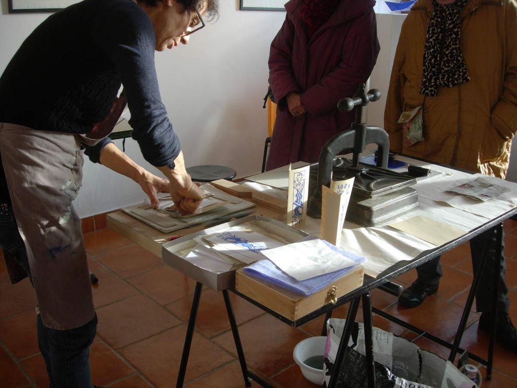 Intervention via le public - Gravure - Galerie de Mezières