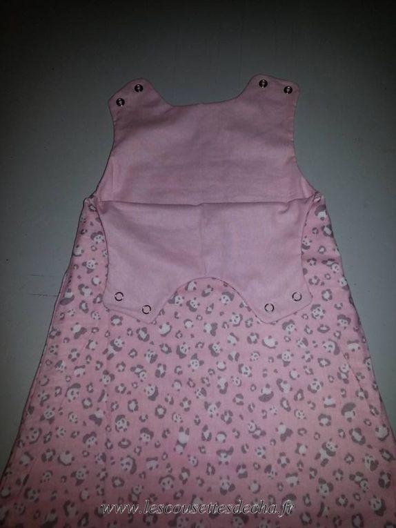 Une robe panda pour Princesse Lily