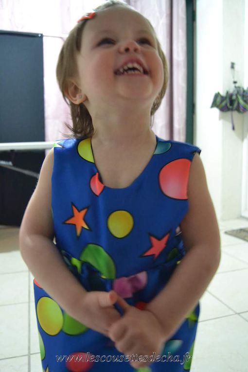 Robe de carnaval pour Princesse Lily