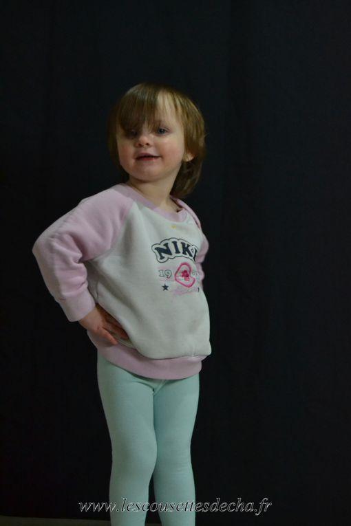 Des leggings pour une GRANDE fille